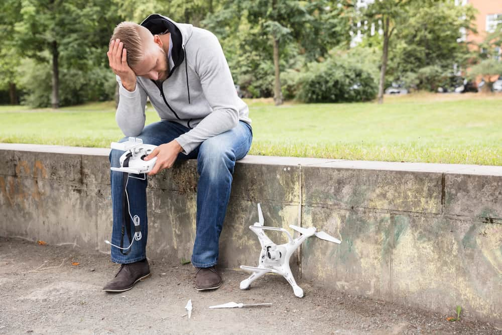 Drone Accident
