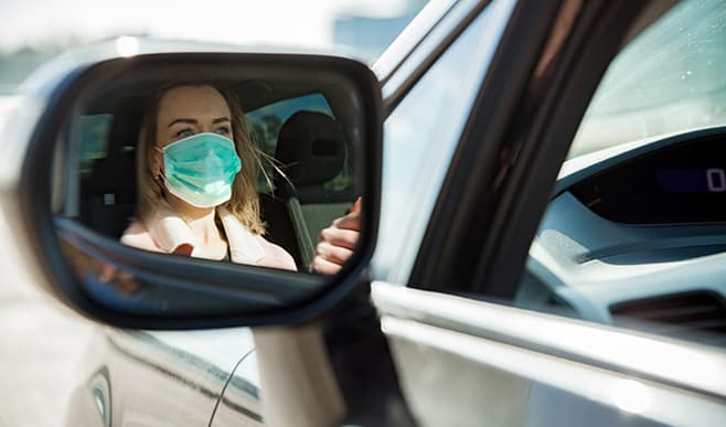 Driving Safely During the Coronavirus Pandemic Could Save Your Life